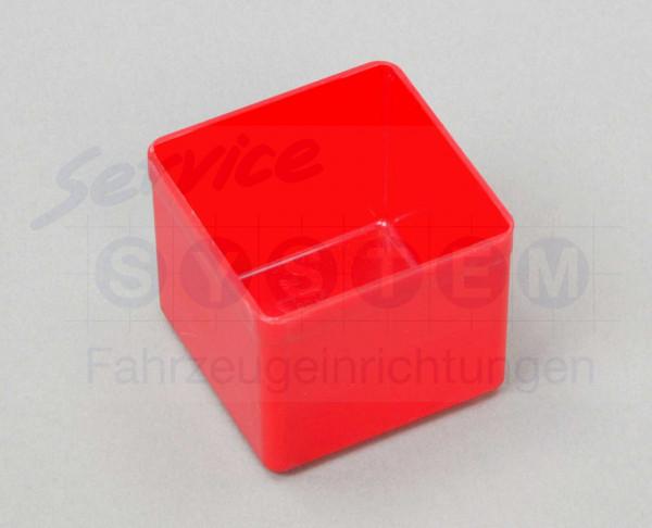 KB Kunststoffeinsatzboxen 1-45 rot