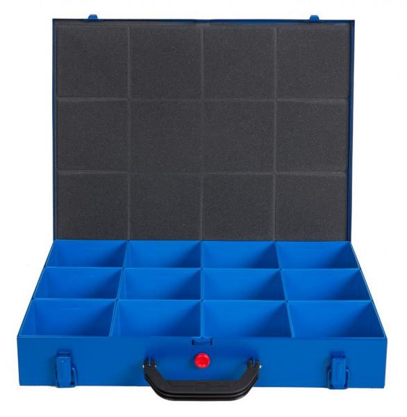 SK Sortimentskoffer mit 12 Kunststoffboxen SK66-12