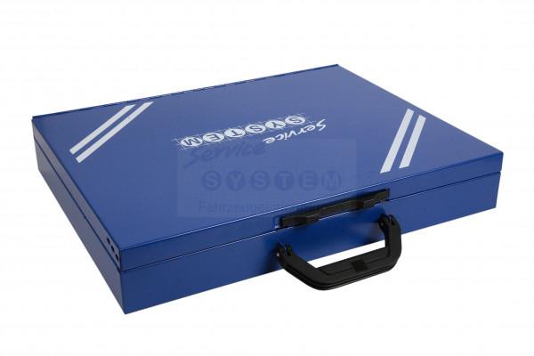 SK Sortimentskoffer mit 24 Kunststoffboxen SK-N66-24