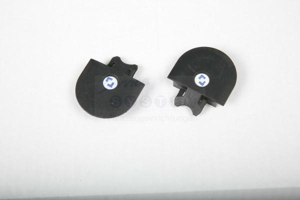 E-ZSU Endkappen schwarz U-Profil