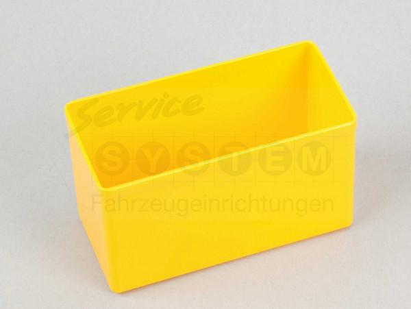 KB Kunststoffeinsatzboxen 2-45 gelb