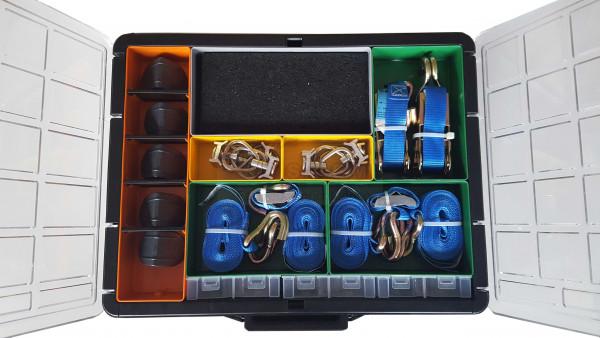 Koffer Ladungssicherungs-Set 53-teilig für Transporter