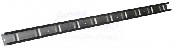 Stäbchenzurrschiene Aluminium 1250x43mm