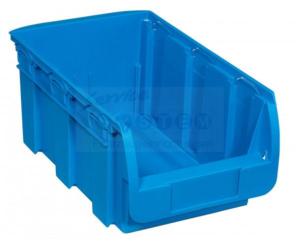 SB Stapelsichtboxen aus PP Compact 4-360 blau
