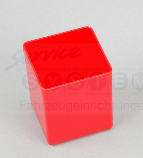 KB Kunststoffeinsatzboxen 1-63 rot