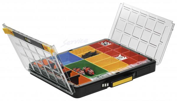 KTK Sortimentskoffer mit Klarsichtdeckel