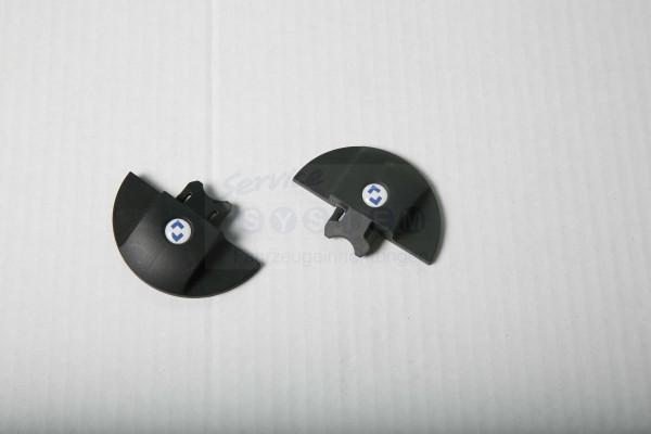 E-ZSV Endkappen schwarz versenkbar